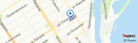 РСТК-Логистика на карте Барнаула