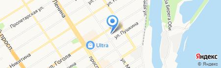 Балтрезинотехника на карте Барнаула