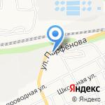 Мастер Вкуса на карте Барнаула