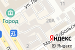 Схема проезда до компании Салон штор в Барнауле