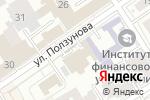 Схема проезда до компании Щербинин О.В. в Барнауле