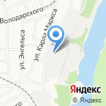 Агропром на карте Барнаула