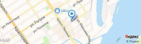 ГлавИнвестГрупп на карте Барнаула