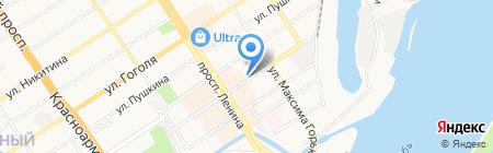 Элсервис ЭТЛ на карте Барнаула