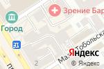 Схема проезда до компании Рубашка в Барнауле