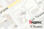 Схема проезда до компании Правовая инициатива в Барнауле
