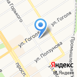 Правовая инициатива на карте Барнаула