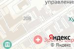 Схема проезда до компании Ваш теплый дом в Барнауле