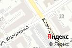 Схема проезда до компании Арлекин в Барнауле