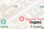 Схема проезда до компании Фарт в Барнауле