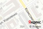 Схема проезда до компании Джедай в Барнауле