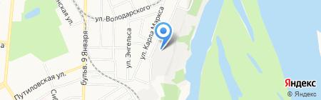Мс-Дизель на карте Барнаула