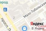 Схема проезда до компании Черный кот в Барнауле