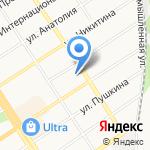 Элин на карте Барнаула
