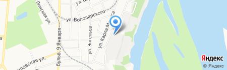 Япошка22 на карте Барнаула