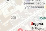 Схема проезда до компании Тихий час в Барнауле