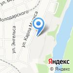 Вешенка 22 на карте Барнаула