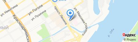 Лорена на карте Барнаула