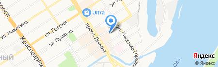 Фарт на карте Барнаула