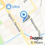 Сокол на карте Барнаула