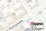 Схема проезда до компании Кооперативный центр в Барнауле