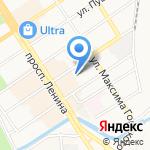 Единая юридическая служба на карте Барнаула