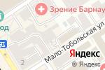 Схема проезда до компании Bal Service в Барнауле