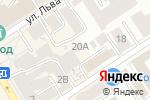 Схема проезда до компании Ваш друг в Барнауле