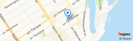 Консалтинговая компания на карте Барнаула