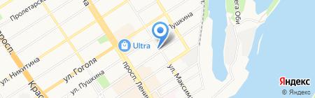 ОЦЕНКА ПЛЮС на карте Барнаула