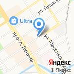Тихий час на карте Барнаула