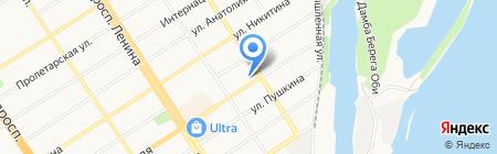Алтайфото на карте Барнаула