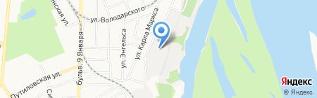 СЕЛЕНА на карте Барнаула
