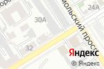 Схема проезда до компании ROOмочная в Барнауле