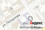 Схема проезда до компании Гильдия event-менеджеров Алтая в Барнауле