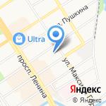 Столовая на карте Барнаула