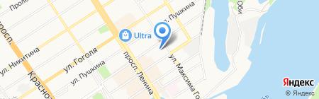Бизнес-колледж МосАП Московская академия предпринимательства при Правительстве Москвы на карте Барнаула
