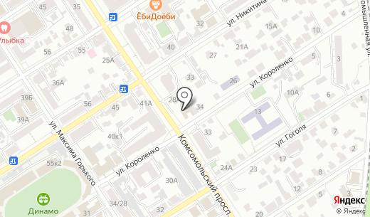 Сибирская федерация Айкидо Айкикай. Схема проезда в Барнауле