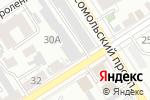 Схема проезда до компании ИНВЕСТКРЕДИТСЕРВИС в Барнауле