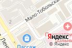 Схема проезда до компании Всемучет в Барнауле