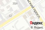 Схема проезда до компании Артель в Барнауле