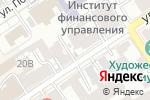 Схема проезда до компании Мир кожи в Барнауле