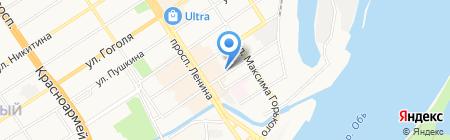 Альфа-Версия на карте Барнаула