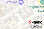 Схема проезда до компании Семь листовок в Барнауле