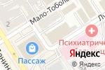 Схема проезда до компании Электра в Барнауле