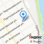 Строительная перспектива на карте Барнаула