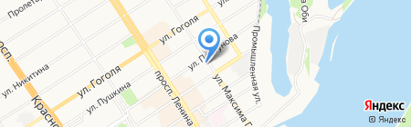 МосАП на карте Барнаула