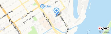 Интерьер-Трейд на карте Барнаула