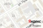 Схема проезда до компании Аркада в Барнауле