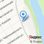 Лабаз на карте Барнаула